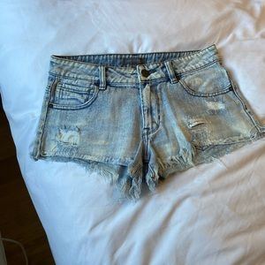 Kendall + Kylie denim shorts